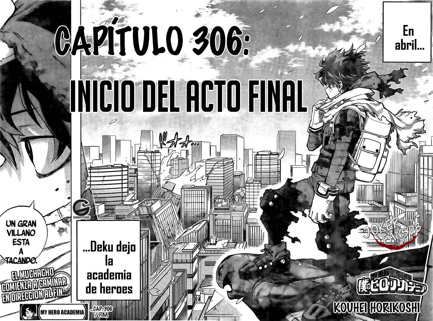 Boku no Hero Academia 306 InManga